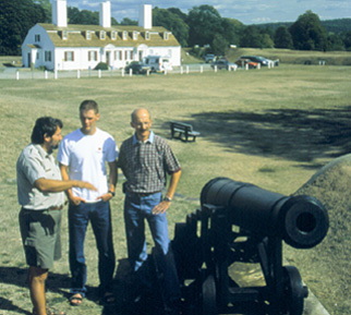 Fort Anne in Annapolis Royal